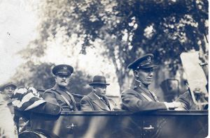 Generals Pershing, Benson and Marshall on Memorial Day